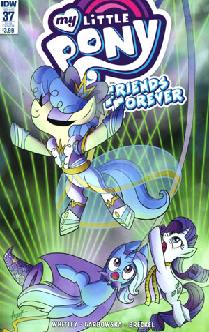 My Little Pony Friends Forever #37 Cover B Variant Sara Richard Subscription Cover
