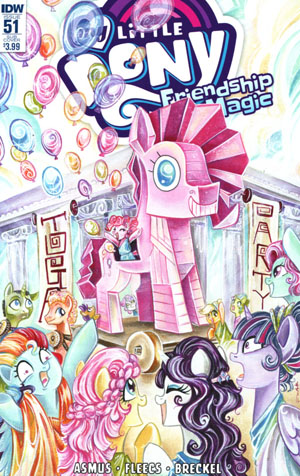 My Little Pony Friendship Is Magic #51 Cover B Variant Agnes Garbowska Subscription Cover