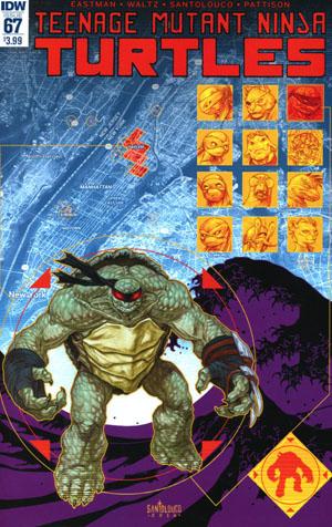 Teenage Mutant Ninja Turtles Vol 5 #67 Cover A Regular Mateus Santolouco Cover