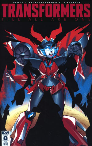 Transformers Till All Are One #8 Cover B Variant Priscilla Tramontano Subscription Cover
