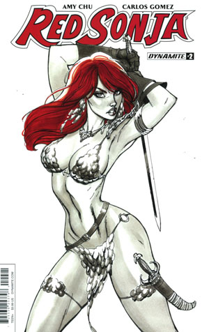 Red Sonja Vol 7 #2 Cover B Variant J Scott Campbell Cover