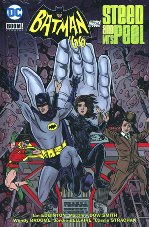 Batman 66 Meets Steed And Mrs Peel HC
