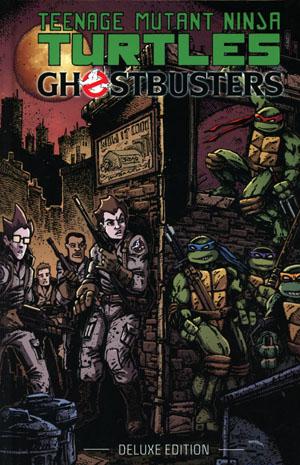 Teenage Mutant Ninja Turtles Ghostbusters Deluxe Edition HC