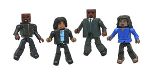 Marvel Minimates Luke Cage TV Series Box Set