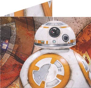 Star Wars Episode VII The Force Awakens Portrait Mighty Wallet - BB-8