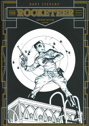 Dave Stevens Rocketeer Artisan Edition TP Direct Market Exclusive