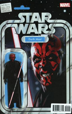 Star Wars Darth Maul #1 Cover C Variant John Tyler Christopher Action Figure Cover