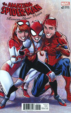 Amazing Spider-Man Renew Your Vows Vol 2 #2 Cover B Incentive J Scott Campbell Variant Cover
