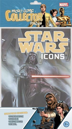 Star Wars Icons Micro Comic Collector Pack