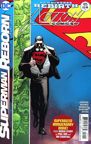 Action Comics Vol 2 #975 Cover A Regular Patrick Gleason & Mick Gray Cover (Superman Reborn Part 2)