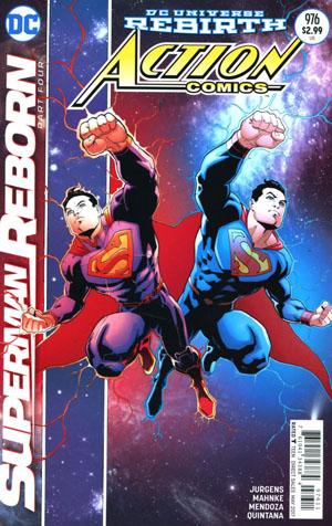 Action Comics Vol 2 #976 Cover A Regular Patrick Gleason & Mick Gray Cover (Superman Reborn Part 4)(Limit 1 Per Customer)