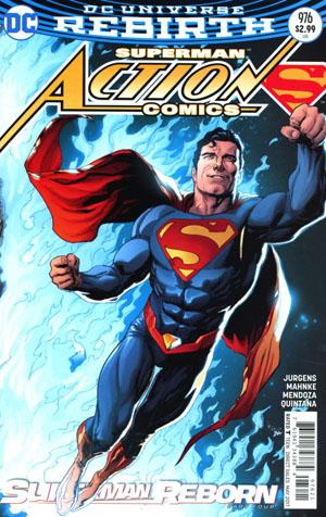 Action Comics Vol 2 #976 Cover B Variant Gary Frank Cover (Superman Reborn Part 4)(Limit 1 Per Customer)