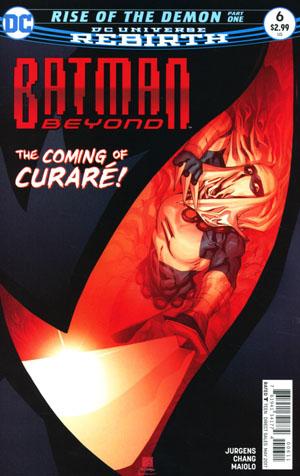 Batman Beyond Vol 6 #6 Cover A Regular Bernard Chang Cover