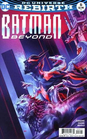 Batman Beyond Vol 6 #6 Cover B Variant Martin Ansin Cover