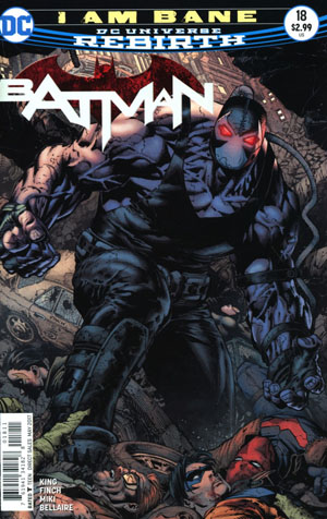 Batman Vol 3 #18 Cover A Regular David Finch & Danny Miki Cover