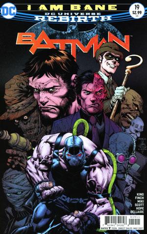 Batman Vol 3 #19 Cover A Regular David Finch & Danny Miki Cover