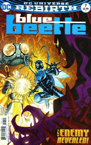 Blue Beetle (DC) Vol 4 #7 Cover A Regular Scott Kolins Cover