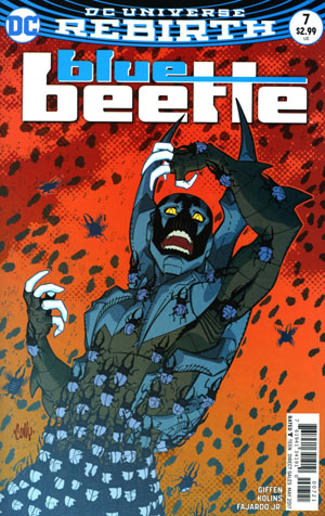 Blue Beetle (DC) Vol 4 #7 Cover B Variant Cully Hamner Cover