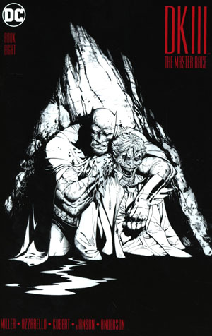 Dark Knight III The Master Race #8 Cover C Midtown Exclusive Greg Capullo Sketch Variant Cover