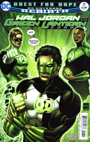 Hal Jordan And The Green Lantern Corps #17 Cover A Regular Ethan Van Sciver Cover
