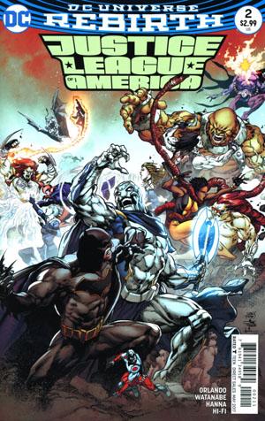 Justice League Of America Vol 5 #2 Cover A Regular Ivan Reis & Joe Prado Cover