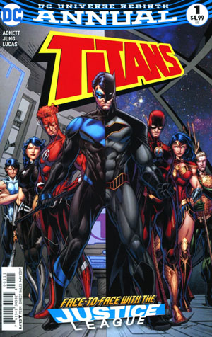Titans Vol 3 Annual #1