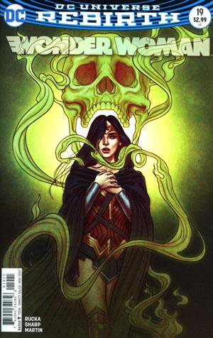 Wonder Woman Vol 5 #19 Cover B Variant Jenny Frison Cover