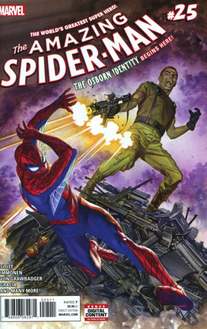 Amazing Spider-Man Vol 4 #25 Cover A Regular Alex Ross Cover