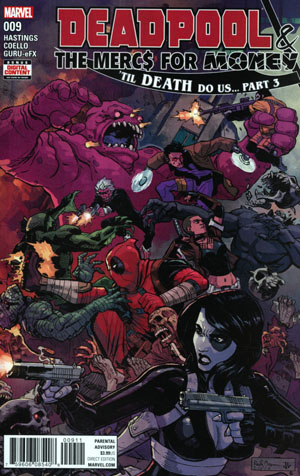 Deadpool And The Mercs For Money Vol 2 #9 Cover A Regular Reilly Brown Cover (Til Death Do Us Part 3)