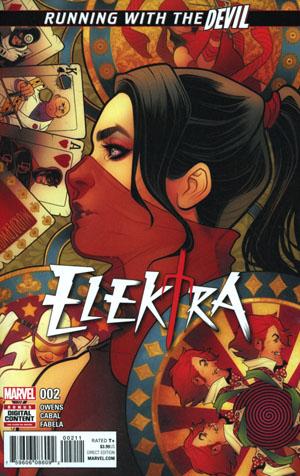 Elektra Vol 4 #2 Cover A Regular Elizabeth Torque Cover