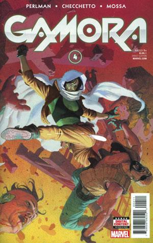 Gamora #4 Cover A Regular Esad Ribic Cover