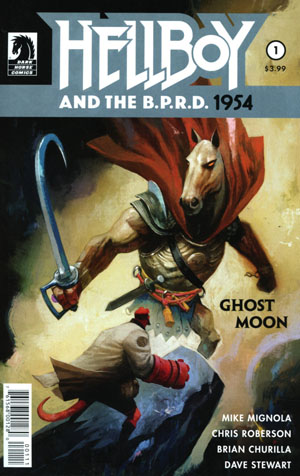 Hellboy And The BPRD 1954 Ghost Moon #1