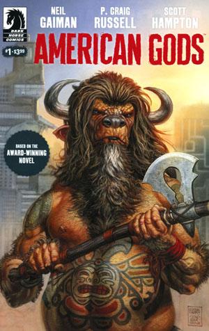 American Gods Shadows #1 Cover A Regular Glenn Fabry Cover