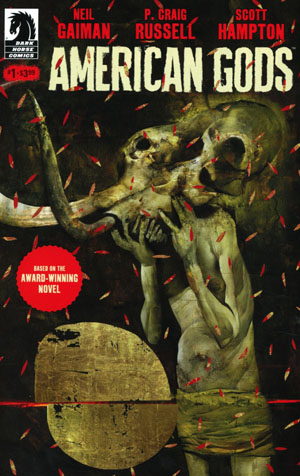 American Gods Shadows #1 Cover C Variat Dave McKean Cover