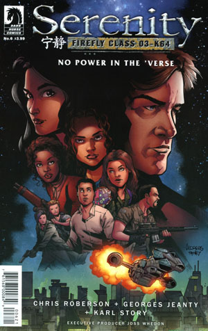 Serenity No Power In The Verse #6 Cover B Variant Georges Jeanty Cover