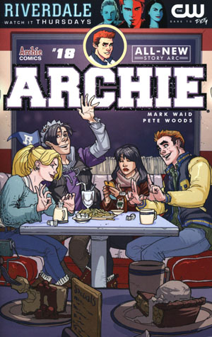 Archie Vol 2 #18 Cover A Regular Pete Woods Cover