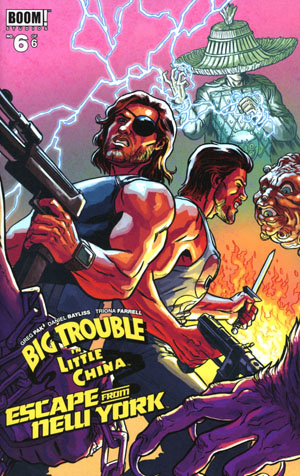 Big Trouble In Little China Escape From New York #6 Cover B Variant Ryan Browne Subscription Cover