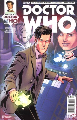 Doctor Who 11th Doctor Year Three #6 Cover A Regular Wellington Alves Cover