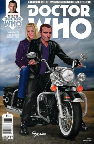 Doctor Who 9th Doctor Vol 2 #13 Cover C Variant Simon Myers Cover