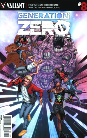 Generation Zero #8 Cover A Regular Khari Evans Cover