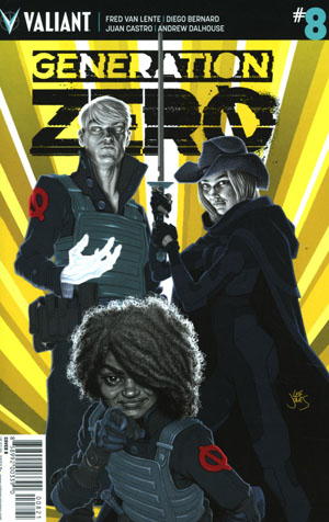 Generation Zero #8 Cover B Variant Leif Jones Cover