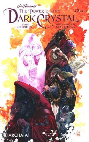 Jim Hensons Power Of The Dark Crystal #2 Cover A Regular Kelly Matthews & Nichole Matthews Cover