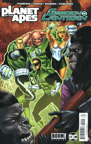 Planet Of The Apes Green Lantern #2 Cover A Regular Ethan Van Sciver Cover