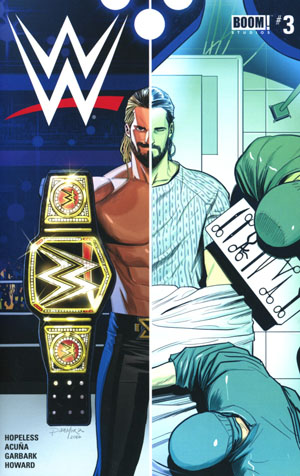 WWE #3 Cover A Regular Dan Mora Cover