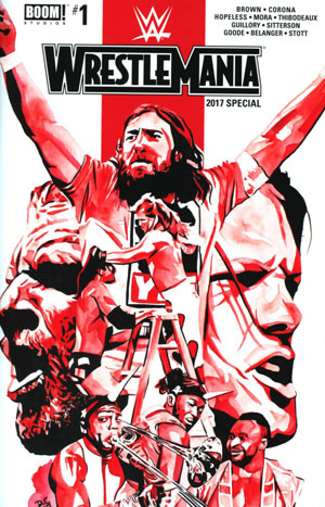 WWE Wrestlemania 2017 Special #1 Cover A Regular Rob Schamberger Cover