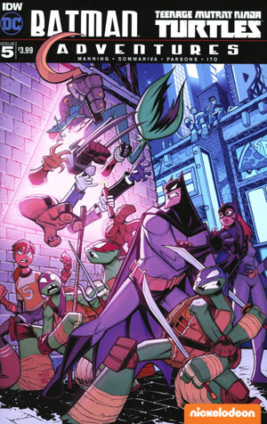 Batman Teenage Mutant Ninja Turtles Adventures #5 Cover A Regular Jon Sommariva Cover