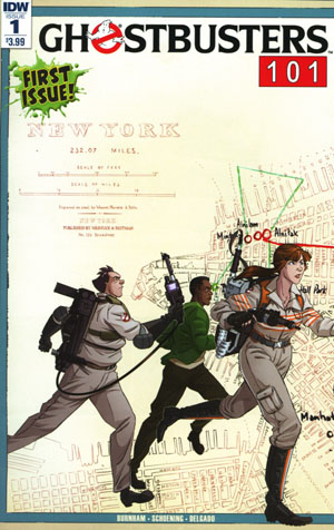 Ghostbusters 101 #1 Cover A 1st Ptg Regular Dan Schoening Cover
