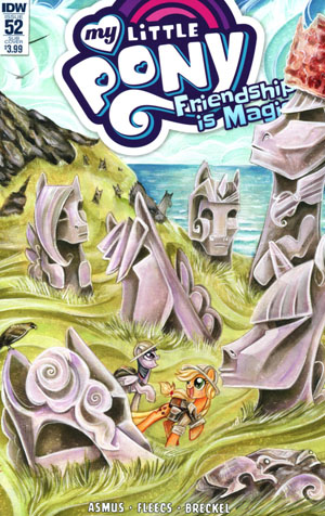 My Little Pony Friendship Is Magic #52 Cover B Variant Sara Richard Subscription Cover
