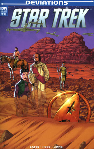 Star Trek Deviations One Shot Cover A Regular Josh Hood Cover