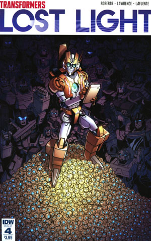 Transformers Lost Light #4 Cover A Regular Jack Lawrence Cover